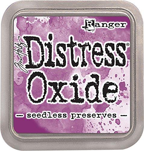 Ranger Seedless Preserves Distress Oxid-Tintenkissen, aus Synthetik, Violett, 7,5 x 7,5 x 1,9 cm