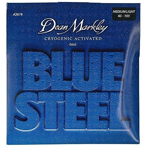 BLUE STEEL MEDIUM LIGHT 45 65 80 105
