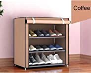 Walmeck Non-woven Storage Shoe Rack Hallway Cabinet Organizer Holder 3/4/5/6/8 Layers Dustproof Assemble Shoes Shelf DIY Hom
