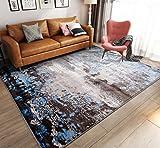 SESO UK-CAR Moderne Shaggy Carpet Weichen Bequemen Fine Rutschfeste Große Fläche Teppich für Wohn- & Schlafzimmer Decor Dicke -1.3cm (Farbe : Carpet-B, Größe : 200x290cm)