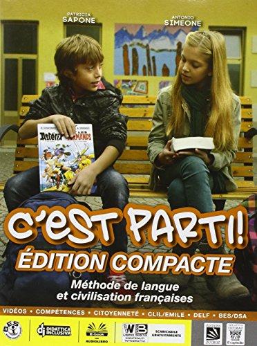 C'est parti! Vol. unico. Per la Scuola media. Con e-book. Con espansione online