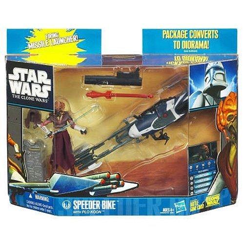 Star Wars The Clone Wars Speeder Bike with Plo Koon 94826
