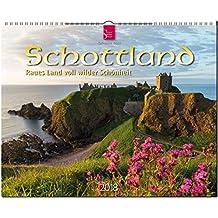 SCHOTTLAND - Raues Land voll wilder Schönheit: Original Stürtz-Kalender 2018 - Großformat-Kalender 60 x 48 cm