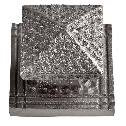 Satin Nickel Backplate (The Kupfer Factory CF109SN stabile Aluminiumguss Kupfer kleinen Platz Backplate, Satin Nickel)