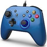 BIMONK Controller di Gioco Cablato per PC, Joystick Gamepad con Controllore di Gioco per PC Doppia Vibrazione Compatibile PS3