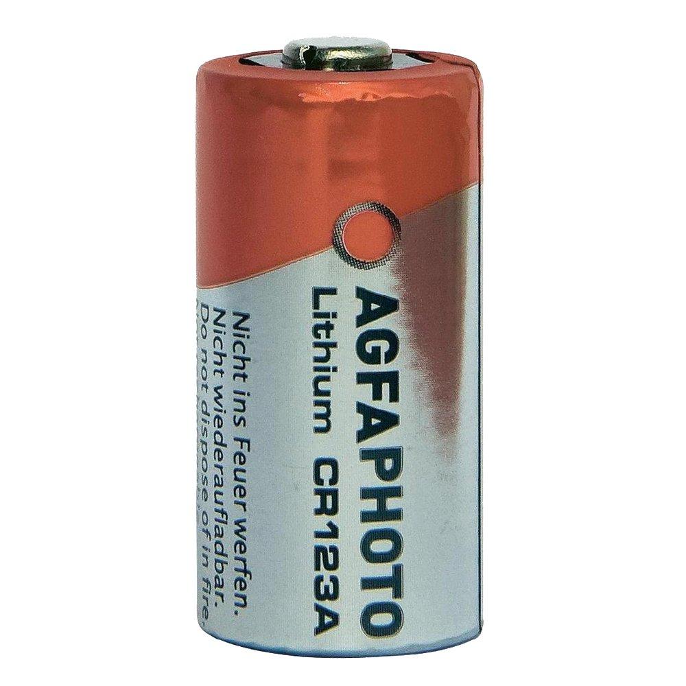 AgfaPhoto CR123A Litio 3V batteria non-ricaricabile