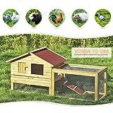iKayaa-AB2012-62-pulgadas-Jaula-con-rampa-de-madera-para-gallinas-conejosmultiuso-gallinero-conejera-para-exterior