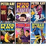 Peter Kay Live Collection: Peter Kay Live - The Tour That Didn't Tour Tour / Peter Kay: Live & Back on Nights / Peter Kay: Live at Manchester Arena / Peter Kay: Live at the Top of the Tower / Peter Kay - Live At The Bolton Albert Halls + smash hit 'Show me the way to Amarillo' + Behind the scenes + Extras