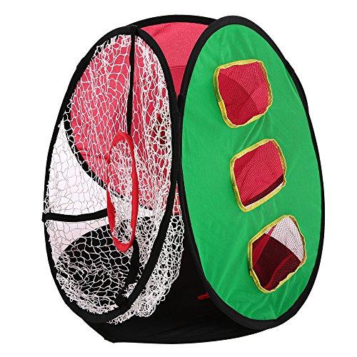 V.JUST Golf Für Pop-Up Training Chipping Net Schlagen Hilfe Praxis Indoor Outdoor Tasche