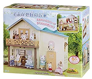 house of sylvanian families house breeze hill. Black Bedroom Furniture Sets. Home Design Ideas
