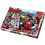 Trefl - 90501 - Puzzle - Disney Marvel Avengers equipo - Tatuajes 160 habitaciones