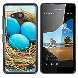 OB-star ( Huevos ) NOKIA Lumia 550 Impreso Colorido Protector Duro Espalda Funda Piel De Shell