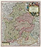 Historische Landkarte: Bayern 1741 - Oberbayern und Niederbayern mit der Oberpfalz und dem Erzstift Salzburg - Matthäus Seutter