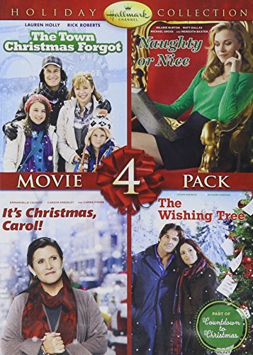Hallmark Holiday Collection #3 (Town that Christmas Forgot/Naughty or Nice/It's Christmas, Carol!/The Wishing Tree) by Carrie Fisher (Christmas Carol-dvd)