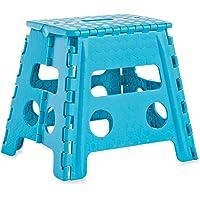 Zeller 99167 Sgabello, Blu, 37x30x32 cm