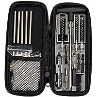 Edelstahl Gunsmith Pick Set Gewehr-Reinigungswerkzeug Doppelendb/ürsten Reinigungsset Taschengr/ö/ße 7 St/ück