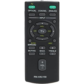 Genuine Sony SA-CT60BT Soundbar Remote Control: Amazon co uk