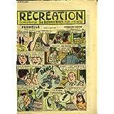"""Récréation du 29 août 1957 : L'Art Nègre - Le ski nautique (conte) - Prunelle, """"Opération Cactus"""", de Ray REDING ..."""