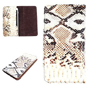 DooDa PU Leather Case Cover For Coolpad Dazen 1 (Brown)