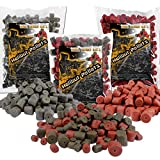 Angel Berger Halibut Pellets Futterpellets (Red Halibut 14mm, 2Kg)