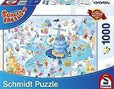 Schmidt Worry Eater Winter Fun Premium Quality puzzle (pezzi)