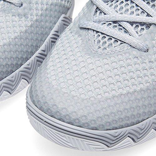 nike KYRIE 1 scarpe sportive da basket alte da uomo 705277 scarpe da tennis Grigio Lupo/Pure Platino/Mezzanotte Blu scuro