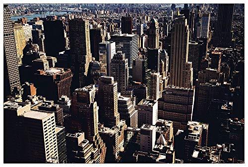 Richardson Building (ArtPlaza TW92549 Jenn Richardson - Manhattan Buildings Dekorative Paneele Holz MDF Multifarbiert 90x60 Cm)
