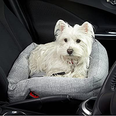 Bunty Travel Dog Bed Soft Washable Car Seat Cushion Warm Luxury Pet Basket - Made in the UK by Bunty