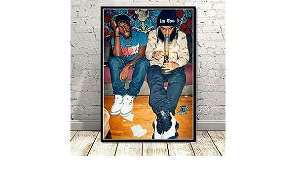 LGXINGLIyidian Flatbush Zombies Rap Musik Star S/änger Mode Leinwand Poster Drucke /Ölgem/älde Wandkunst Bilder Wohnzimmer Home Decor Ik247 40X50Cm