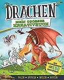 Drachen: Mein großes Kreativbuch: Mit Schablonen und über 150 Stickern (Malen, rätseln, spielen, basteln)