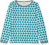 loud + proud Jungen Langarm aus Bio Baumwolle, GOTS Zertifiziert T-Shirt, Blau (Petrol Pe), Herstellergröße: 122/128