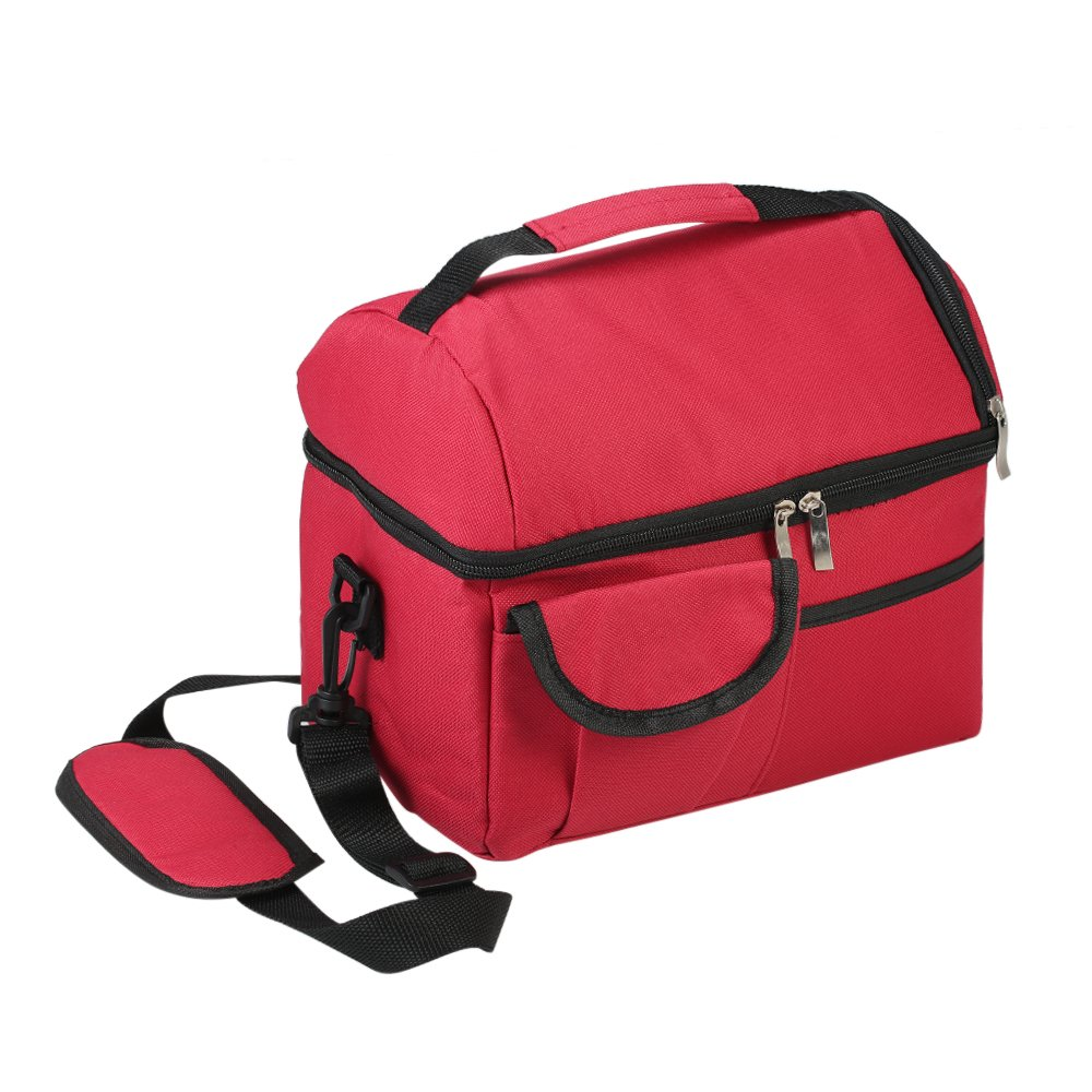 new insulated lunch bag for men women top quality leakproof cool bag lunch box 798881849763 ebay. Black Bedroom Furniture Sets. Home Design Ideas