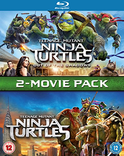 Bild von Teenage Mutant Ninja Turtles / Teenage Mutant Ninja Turtles: Out Of The Shadows Box Set [Blu-ray] UK-Import, Sprache-Englisch
