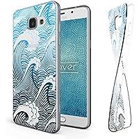 URCOVER Coque Ultra Fine en Silicone Souple pour Samsung Galaxy A5 2016 Decorée avec Dessin Style Mer   Housse de Protection Árriere Transparente