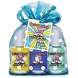 Piggy Paint Non-Toxic Nail Polish, Slush Crush, 3 Polish Gift Set