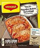 Maggi fix & frisch, Paprika-Rahm Schnitzel,  20er Pack, (20x35 g)