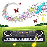 Clode® New 61 Keys Digital Music Electronic Keyboard Key Board Gift Electric Piano Gift Suitable for Age 2-5 Years Old