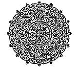 Mandala Wandtattoo Schlafzimmer Wandaufkleber Yoga Vinyl Aufkleber Mandala Blume Wandsticker Wohnzimmer Ornament Indischen Sticker Geometrische Marokkanische Boho Decor Bohemian MN338