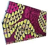 Yiiquan Batik Floral Drucken Stoff Weich Afrikanisches