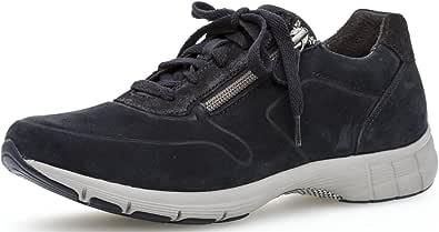 Gabor Damenschuhe 84.351.56 Damen Schnürhalbschuhe, Sneaker, verbreiterte Auftrittsfläche Dank Best Fitting, Sport Dynamic, Optifit Wechselfußbett