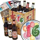 Geschenk zum 16. | Ostdeutsche Biere | Bier Geschenk