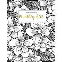 Monthly Bill Planner and Organizer: household budget ledger | 3 Year Calendar 2020-2022 Weekly Expense Tracker Bill Organizer Notebook For Business ... for Women (Financial Planner Budget Book)