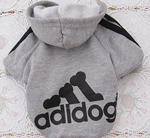 COFCO - Adidog Hundepullover Welpen-T-Shirt Warm Pullover Mantel Pet Kleidung Bekleidung -