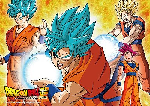 100-piece jigsaw puzzle Dragon Ball super super evolution! Goku large piece (18.2x25.7cm)