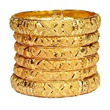Mansiyaorange Traditional Fancy Designer Casual Party Wedding Wear Original Hand Work Meena One Gram Gold Multi Color Golden Bangles for Women