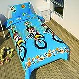 Micky Maus - Wende Bettwäsche Mickey Mouse & Goofy 140x200cm