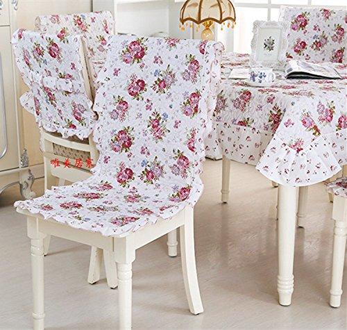 Vier Jahreszeiten Sitzkissen Sitzkissen pad Split all-in-one Esstisch und Stühle von ergonomischen Stuhl Kissen, Kleine rote Blume (Blumen Aus Dem Irak)