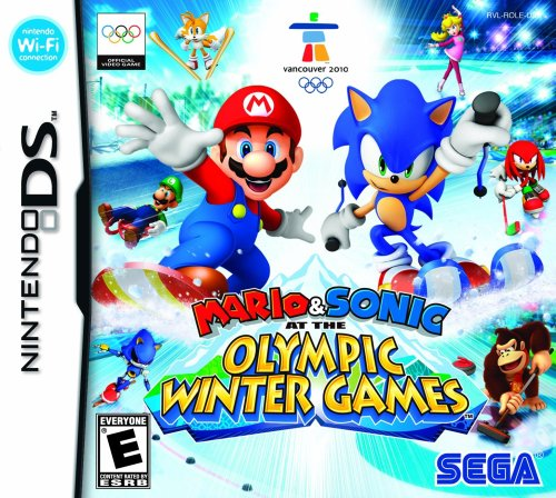 Mario and Sonic at the Olympic Winter  Games [DS] - Und Sonic Ds Mario