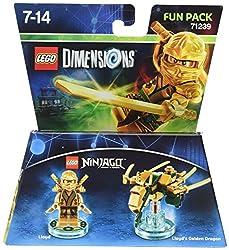 Lego Dimensions: Fun Pack Lloyd Gold Ninja