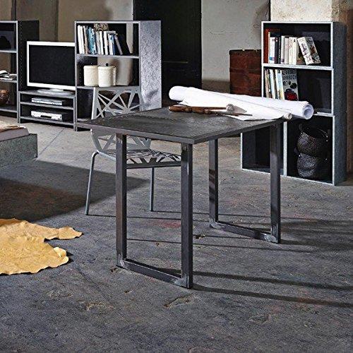 Industrial Schreibtisch schreibtisch industrial print optik alteisen optik industrial home